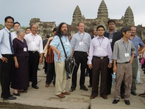 Richard Stallman in Siem Reap
